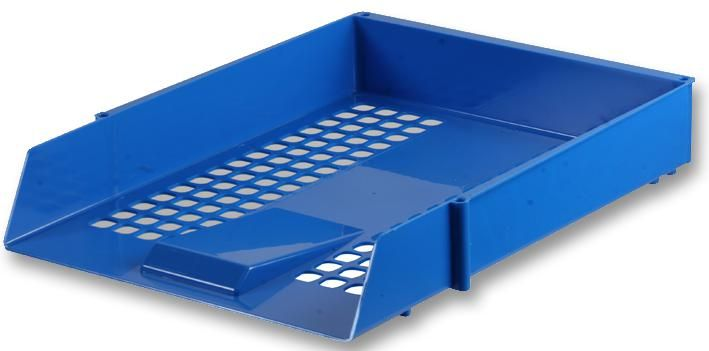 Q CONNECT KF10052  Letter Tray - Blue