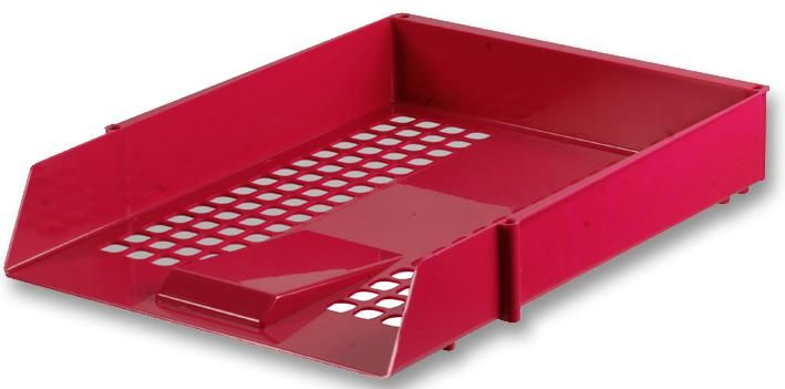 Q CONNECT KF10055  Letter Tray - Red