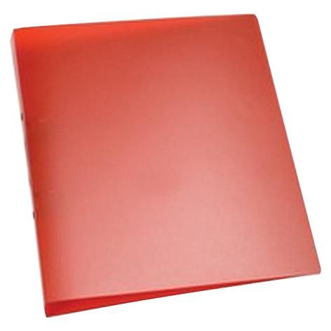 Q CONNECT KF02482  Ring Binders Poly Red