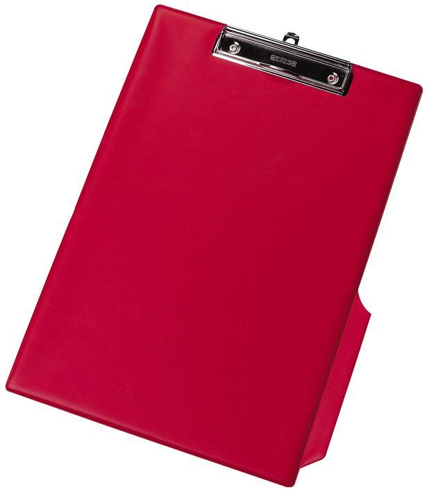 Q CONNECT KF01298  Clipboard Pvc Single Red
