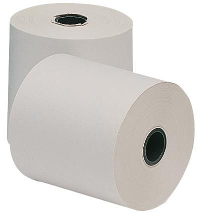 Q CONNECT KF50200  Paper Rolls 1Ply 57X57Mm (20Pk)