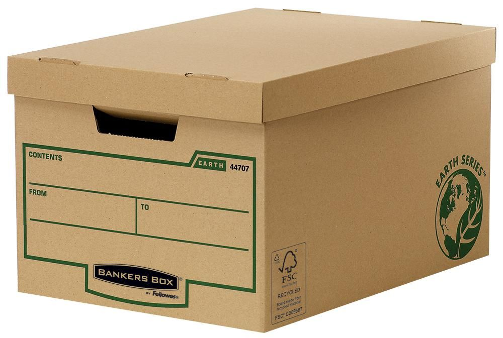 FELLOWES 4470701  Bankers Box Large Storage Box