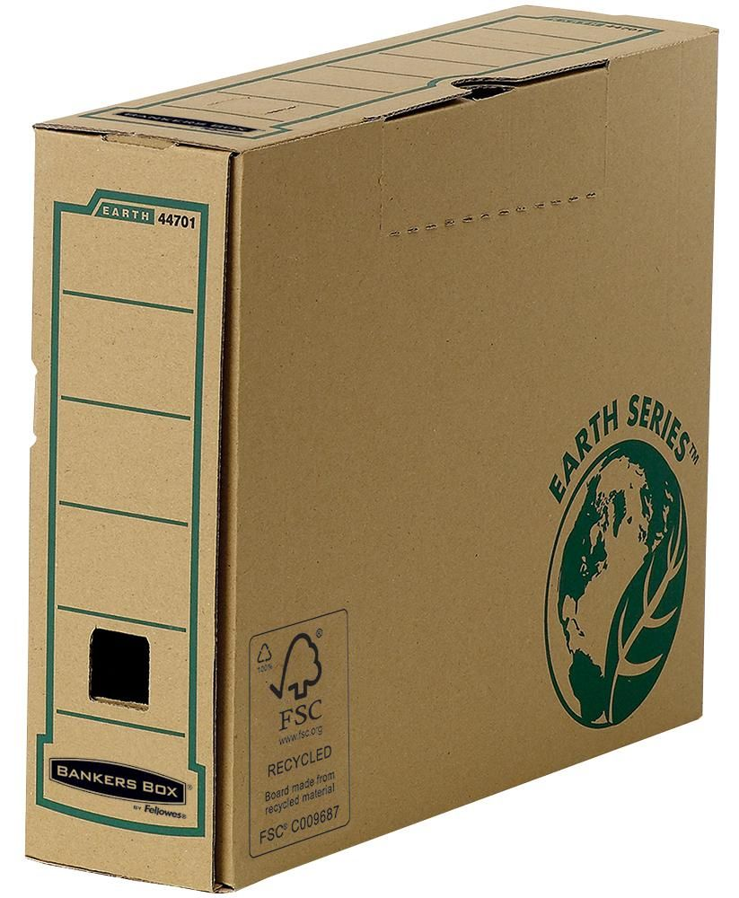 FELLOWES 4470101  Bankers Box Earth 80Mm A4 Transfer File