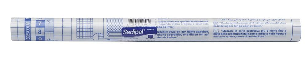 SADIPAL 12801  Self Adhes Clear Film 330Mm X 1.5M 50µ