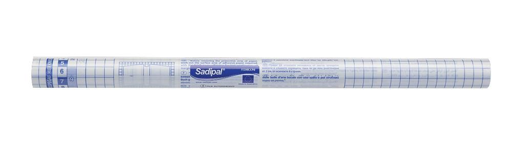 SADIPAL 12839  Self Adhes Clear Film 450Mm X 2M 50µ