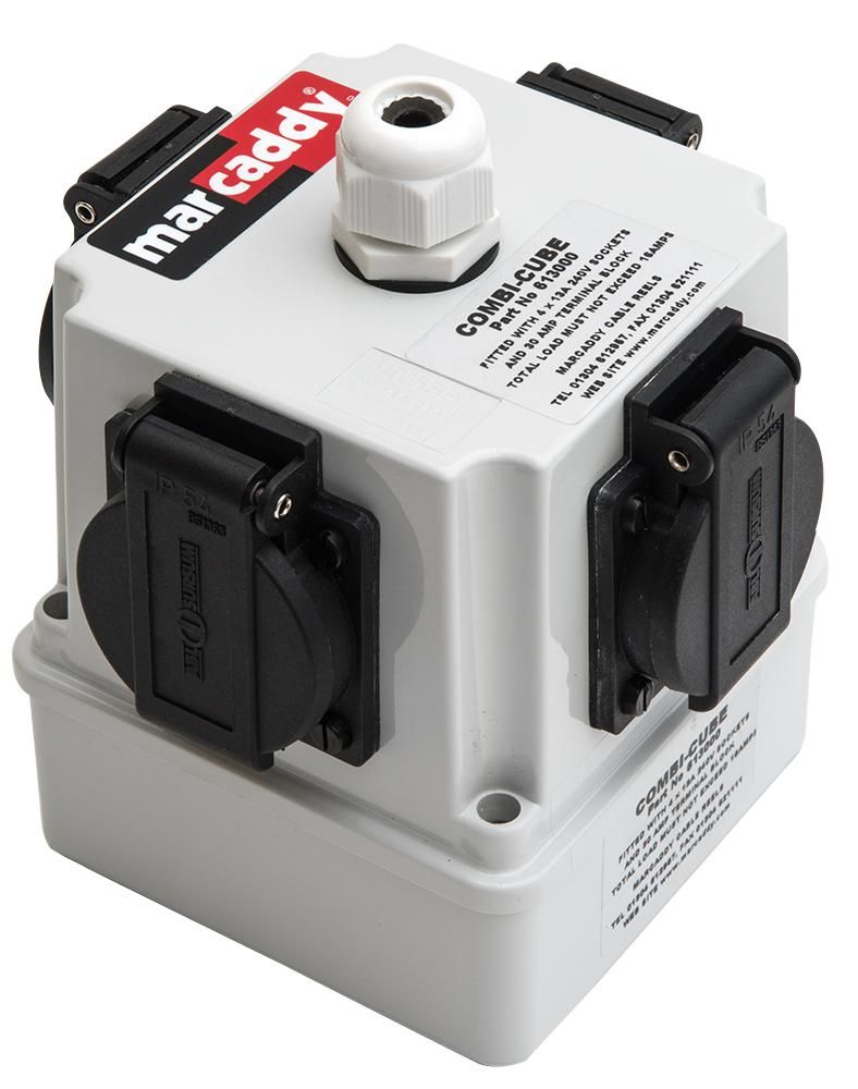 MARCADDY 613000  Combi-Cube With 4X 13A 240V Sockets