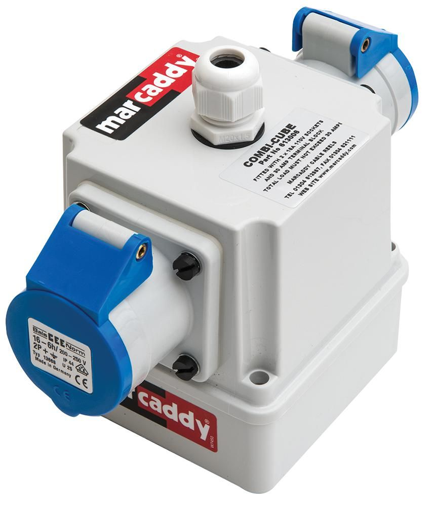 MARCADDY 613005  Combi-Cube With 2X 16A 240V Sockets