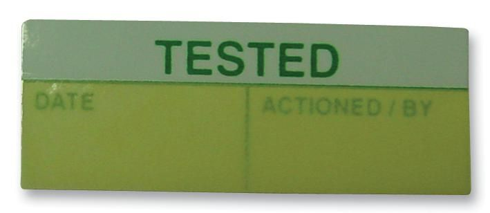TE CONNECTIVITY 18000  Partially Laminated Labels Tested