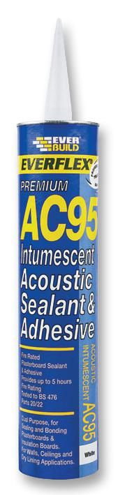 EVERBUILD AC95900  Sealant Intumescent Ac95 900Ml