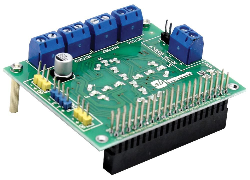 SB COMPONENTS MOTOR SHIELD  Motor Shield For Raspberry Pi