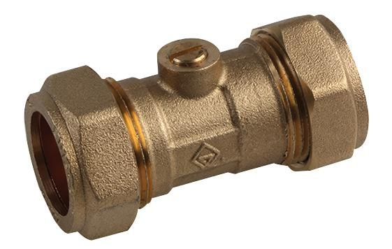 UNBRANDED 10030226  Isolating Valve Brass 15Mm