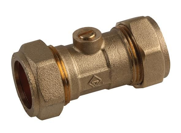 UNBRANDED 10030328  Isolating Valve Brass 22Mm