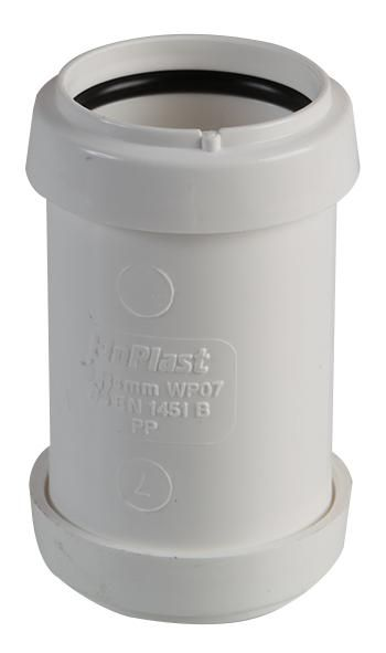 FLOPLAST WP07  Coupling Push Fit White 32Mm