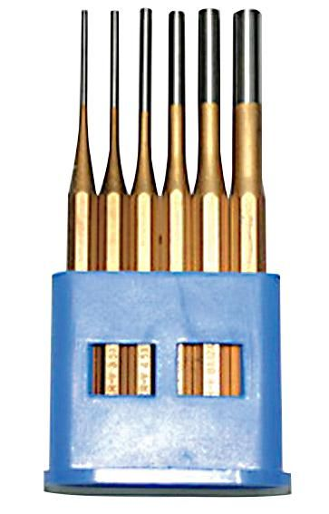 HILKA TOOLS 62900006  Parallel Punch And Chisel Set 6Pc