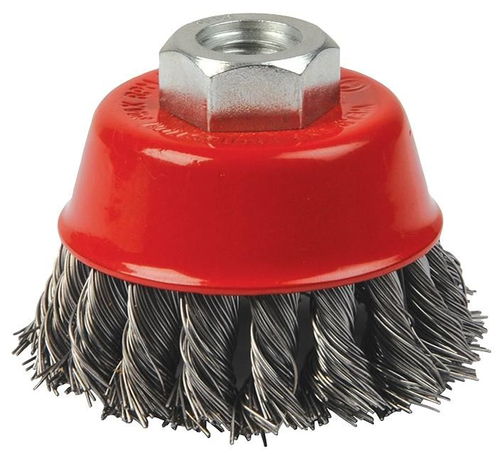 HILKA TOOLS 51960004  Wire Brush Knotted 4